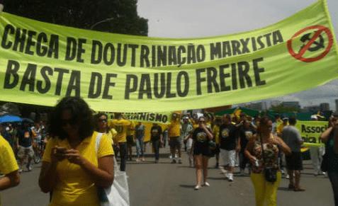 Que falta faz o Professor Paulo Freire…