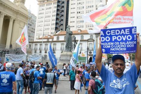 MAIS UM DESASTRE PROPORCIONADO PELO PMDB NO RIO: ALERJ APROVA PROJETO QUE AUTORIZA PRIVATIZAÇÃO DA CEDAE