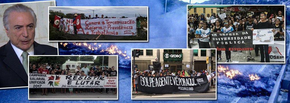 CNI: 79% DOS BRASILEIROS NÃO CONFIAM EM TEMER